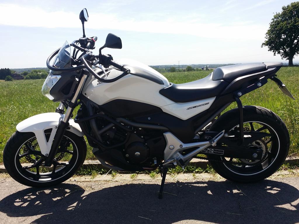Fahrschule Niehe Motorrad Klasse A2 - Honda-NC-700-S-48PS